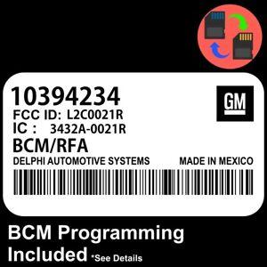 10394234 W/ PROGRAMMING 2005 2006 Colorado / Canyon BCM BCU Body Control Module