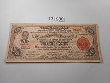 Philippines Emergency Currency Negros Occidental  10 Pesos Quezon - # 131980
