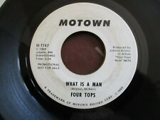 FOUR TOPS What is a man RARE USA 1969 MOTOWN DEMO EX+ COPY