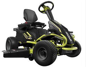 RYOBI 38in. 480ex 100Ah Battery Electric Rear Engine Riding Lawn Mower (RY48111)