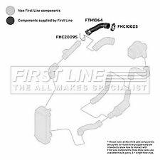 First Line Rear Right Upper Charger Intake Hose Turbo FTH1064 - 5 YEAR WARRANTY