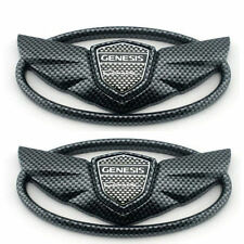Wing Emblem CARBON FIBER COLOR Fit For 2010,2011,2012,2013,14,15 GENESIS COUPE