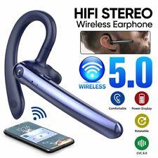 Bluetooth Ohrhörer Kabellos Einohr Kopfhörer Stereo Auto Headset mit Mikrofon DE