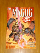 MAGOG LETHAL FORCE DC COMICS KEITH GIFFEN GRAPHIC NOVEL < 9781401227593