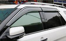 4pcs Window Visor Deflector Rain Guards For Ford Explorer 2014 2015 2016 2017