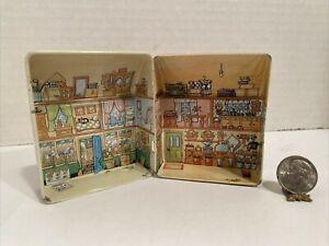 Vintage UK Artist DANA KUBICK Tin Litho Dollhouse for Dollhouse Miniature 1:12