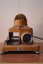 Antiguo Proyector de diapositivas Paximat + ventilador + 4 carretes