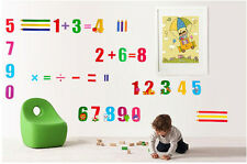Child Arabic numerals Home Room Decor Removable Wall Stickers Decal Decorations