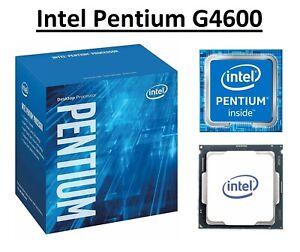 Intel Pentium G4600 SR35F Dual Core Processor 3.6 GHz, Socket LGA1151, 51W CPU