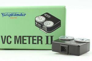 【ALMOST UNUSED in BOX】 Voigtlander VC Light Meter II Light Meter From JAPAN