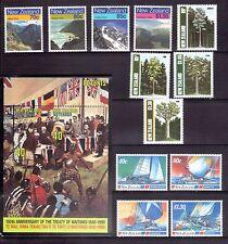 NEW ZEALAND 1987-90 four sets MUH
