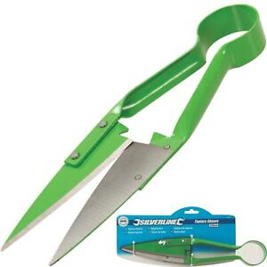 Silverline 330mm One Handed Hedge Lawn Trimming Pruning Gardening Topiary Shears