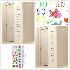 Removable Undersea Animal Wall Sticker Height Measurement Sticker Decal For Kids