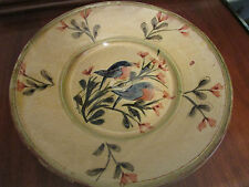 Sud & Co Cassis en Provence Large Hand Painted Round Platter