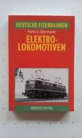 Fachbuch Deutsche Eisenbahnen - Elektro-Lokomotiven Horst J. Obermayer 195 Fotos