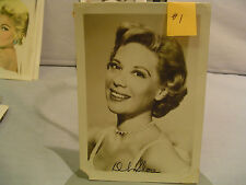 Dinah Shore, Major Star, Autographed Photo, Vintage, #1,Signer,Movies, TV Show