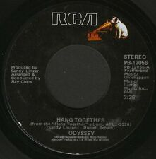 """ODYSSEY hang together/never had it at all PB 12056 usa rca 1987"""" WS EX/"""
