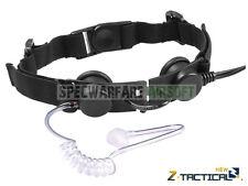 ZTactical Tactical Throat Mic Headset (Black) Z033-BK
