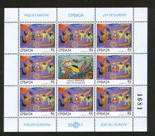 SERBIA-MNH**-S/S-JOY OF EUROPE-2011.