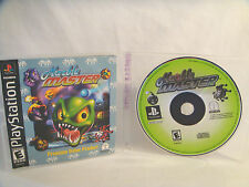 Marble Master  - PlayStation 1(PSX) - Disc & Manual
