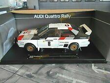 AUDI Quattro Rallye Monte Carlo 1983 Gr.B #8 Blomqvist 3rd Sunstar RAR 1:18