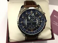 Mens Accurist model no MS785N Stainless Steel Chronograph  watch RRP £179.00,