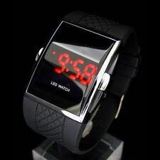 New Luxury Men's Fashion LED Digital Date Sports Quartz Rubber Band Wrist Watch