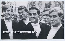 """1960'S MUSIC SHOP PROMO CARD """"THE IDLERS FIVE"""" HMV RECORDS ADELAIDE S. AUST L637"""