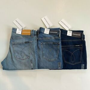 NWT Calvin Klein Jeans Men's CKJ 035 American Classics Straight Leg Jeans Pants