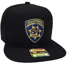 California Highway Patrol Hat Color Black Snapback CHP Hat Adjustable New HAT