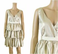 COAST Mariella Metallic Races Party Prom Formal Cocktail Occasion Dress RRP£145