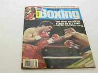 World Boxing Magazine Aug 1990 - McGirt vs Breland & Chavez vs Taylor