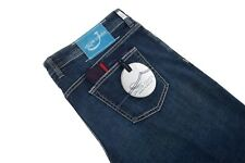 Jacob Cohen 40US/56EU Dark Blue Washed Stretch Cotton 5-Pocket Jeans J620