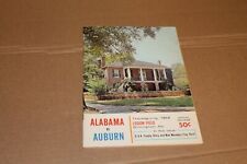 1964 - Alabama Crimson Tide Vs Auburn - Football Program --- Championship Season