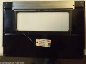 KITCHENAID STOVE 9750693 9750634 9750233 Channel, Heat/ Baffle, Glass/Shield,