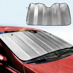 Truck Auto Sun Shade Foldable Reflective Visor Windshield Front Window Block UV