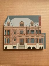 Cat's Meow Village Voigt House Museum~Grand Rapids, Michigan~Dated 1991~Pine