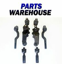 8 Pc Lower Upper Ball Joints Tie Rod Ends For 95-04 Toyota Tacoma 2 Yr Warranty