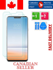 2X Premium Tempered Glass Screen Protector for LG G7 ThinQ  G7 One Fit  G8 G6