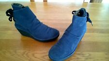 Lovely FLY LONDON Leather Boots Size 5 UK 38 EUR