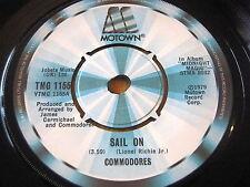 "COMMODORES - SAIL ON     7"" VINYL"