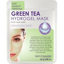 Skin Republic 25g Green Tea Hydrogel Face Sheet Mask - Antioxidant Rich