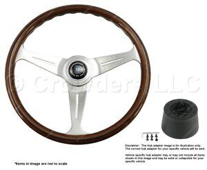 Nardi Classic 390mm Steering Wheel + Hub for Saab 95 - 96 5061.39.3000 + .4302
