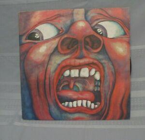 King Crimson In The Court of The Crimson King Original Press SD 8245 LP Record