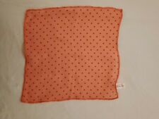 American Girl Doll Maryellen Headscarf Only form Poodle skirt. Color is orange.