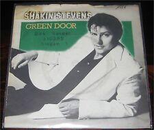 """Shakin' Stevens, Green Door, VG-/VG+ 7"""" Single 0862-2"""