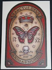 Dobra Lystivka Art Postcard - Anima Mundi by Daniel Martin Diaz