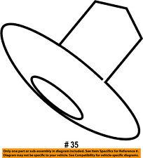 FORD OEM-Fender Liner Splash Shield Retainer N806113S