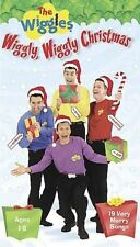 WIGGLES, THE: WIGGLY, WIGGLY CHRISTMAS (VHS-LIKE NEW)GREG, JEFF, MURRAY, ANTHONY