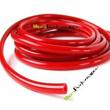 """RED New ID:5/16"""" 0.32"""" 8MM inch  Racing Turbo Silicone Hose Tube Pipe 1 foot 2MM"""